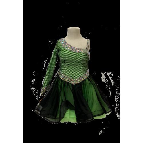 租用Step Up拉丁舞比賽舞裙 (適合身高110-120cm)
